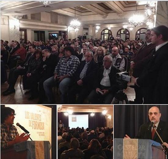 Apertura del ciclo 2014 de Casa Patria, con un gran evento cultural en el Hotel Castelar