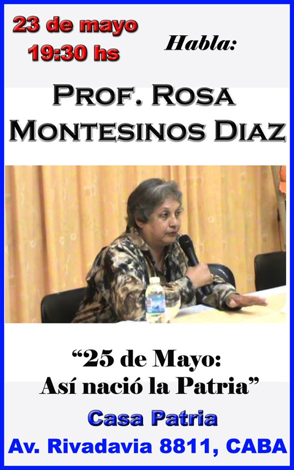 Conferencia Prof. Rosa Montesinos Díaz