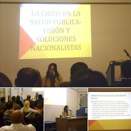 Salud Pública: Lic. Ana Graziano expuso críticas y soluciones en Casa Patria