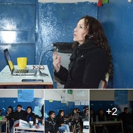 Lic. Ana Graziano habló sobre el flagelo de las drogas ante estudiantes secundarios de Morón