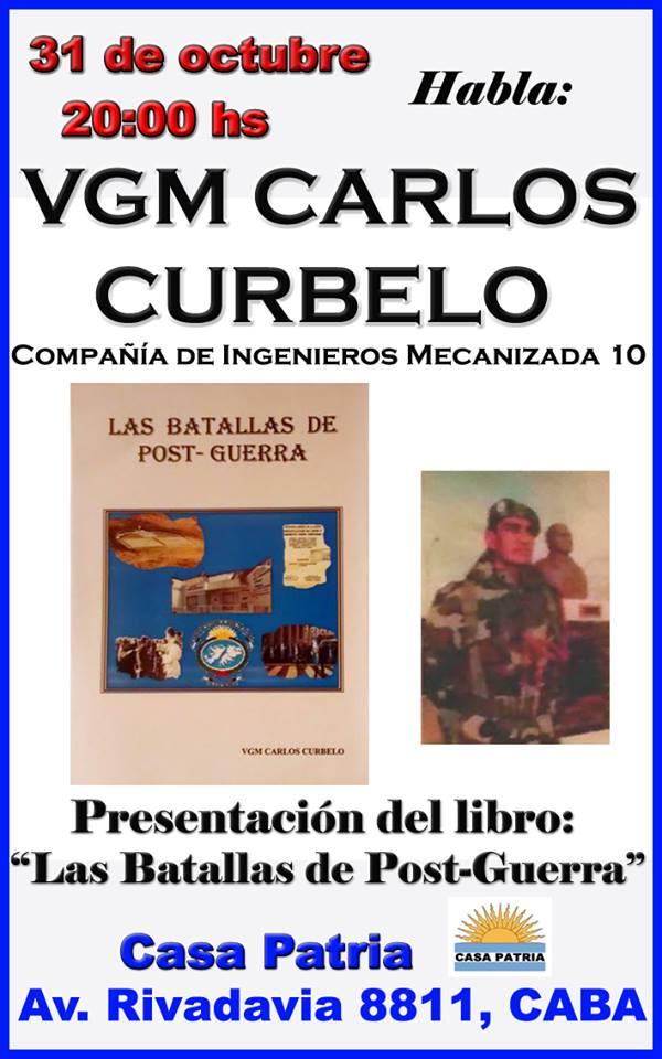 31 de Octubre: Habla VGM Carlos Héctor Curbelo