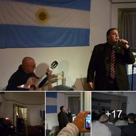 Gran recital de Leonardo Gentilezza en Casa Patria