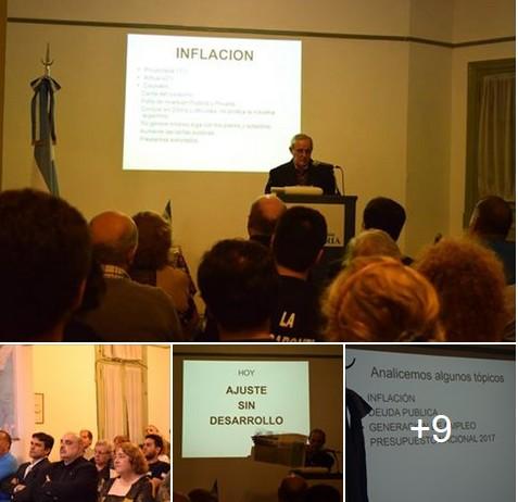 Cátedra de Economía Nacionalista del Dr. Bariani en Casa Patria