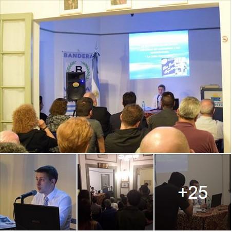 La conferencia del Dr. Mazzieri sobre la reforma laboral convocó a una numerosa concurrencia